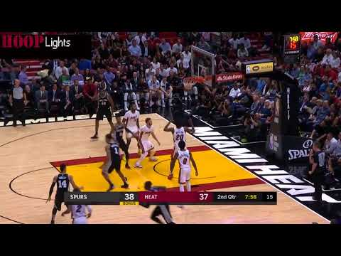San Antonio Spurs vs Miami Heat - Full Game Highlights  October 25 2017  2017-18 NBA season