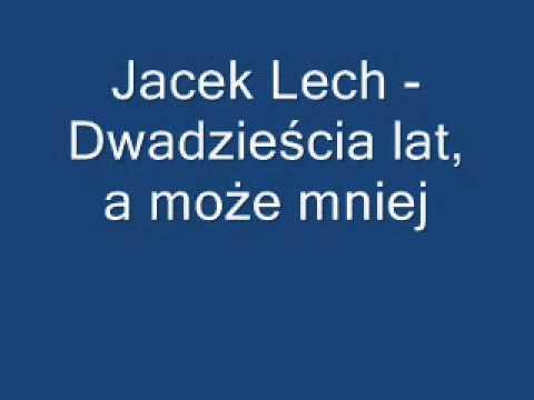 Jacek Lech - Dwadzieścia lat (instrumental, karaoke, cover)