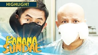Face mask alternative | Banana Sundae
