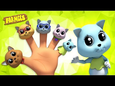 kitten-finger-family-|-nursery-rhymes-for-babies-and-kids-songs-|-cartoon-videos