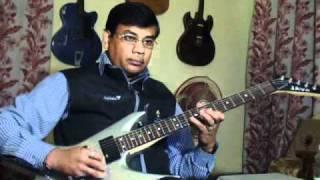 Hai apna dil tu awara on Guitar
