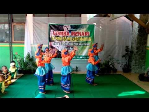 'Idul Fitri Dance - TK PSM 1 KAWEDANAN