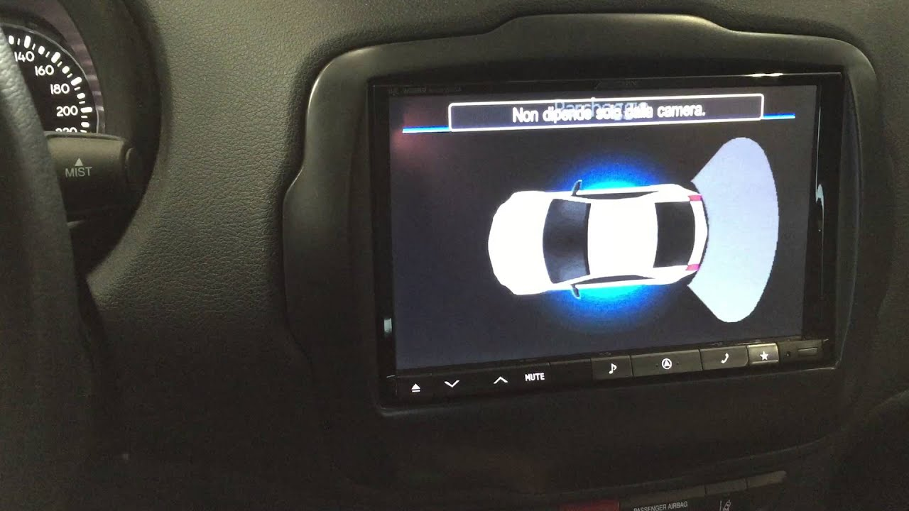 Jeep Renegade Dash