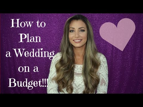 Be a Budget Savvy Bride! How to plan a wedding on a budget!