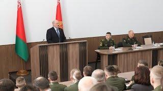 Беларусь не отступит от реализации мирной внешней политики - Лукашенко