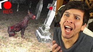ENCONTRÉ COSAS PARANORMALES EN EL CEMENTERIO !! - REC (Horror Game)