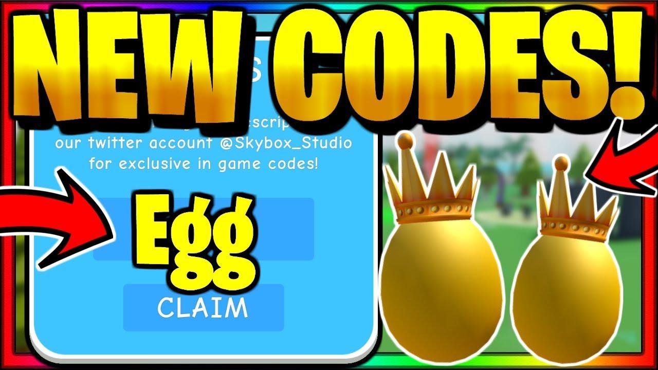 Roblox Egg Farm Simulator Codes July 2020