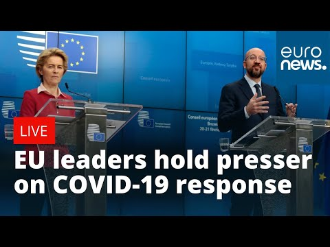WATCH LIVE: EU leaders hold presser after emergency videoconference with Heads of States on COVID-19