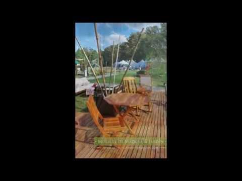 Fabrica de sillas muebles de madera y jard n com youtube for Fabrica de muebles para jardin