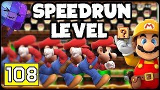 SPEEDRUN Level #108 ⭐️ SUPER MARIO MAKER ONLINE Deutsch