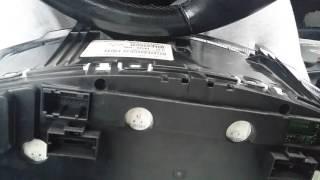 Réparer un compteur de voiture qui ne fonctionne plus
