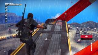 Just Cause 3 short: RIP excavator