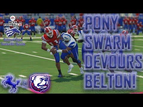 SENIOR LB TIES SCHOOL SACK RECORD | NCAA Football 14 Baltimore State Dynasty Y4,G4 @ Lousiana Tech