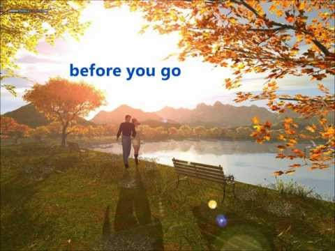 Before You Go - Matt Monro