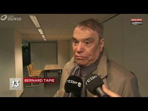 1ÈRE APPARITION DE BERNARD TAPIE DEPUIS L'ANNONCE DE SON CANCER !!