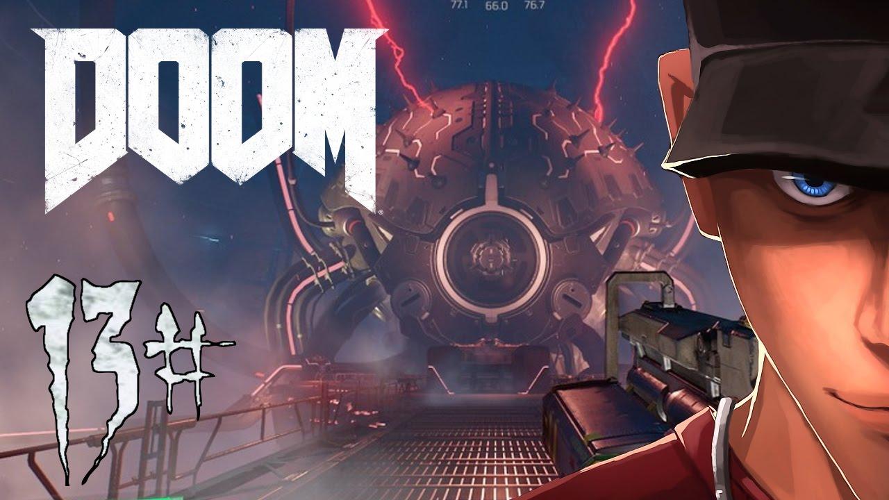 Doom 4 Nightmare Mission 12 Vega Central Processing I Am