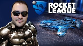 Rocket League DLC Batman Vs Superman: TESTANDO O BATMÓVEL/BATMOBILE