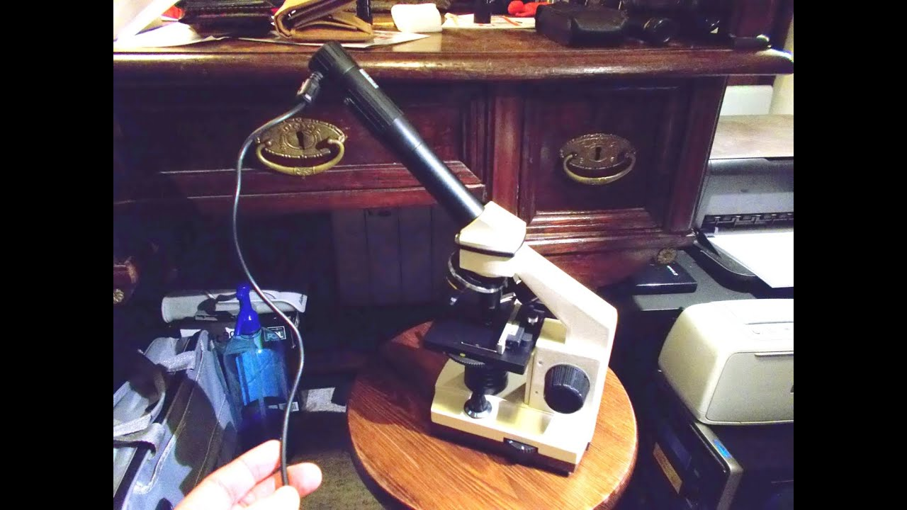 Bresser biolux nv portable microscope youtube