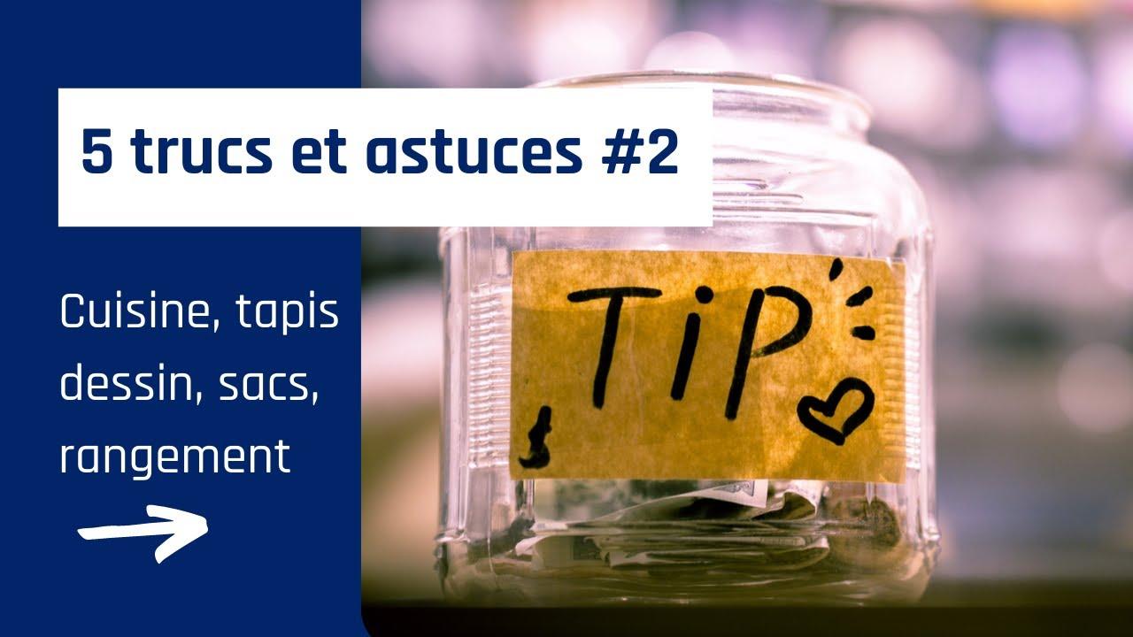 5 Trucs Et Astuces Cuisine Dessin Rangement Tapis 2