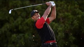 Tiger Woods enjoying getting back in the swing of tournament golf