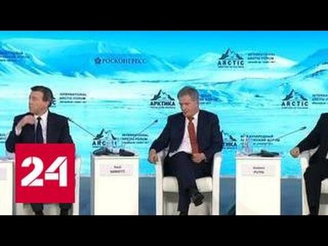Арктический форум-2017: баланс экологии и бизнеса