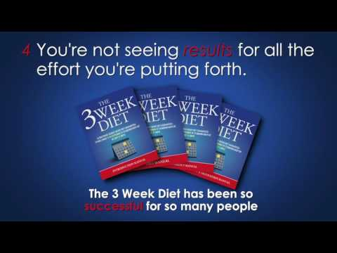 The 3 Week Diet - How To Lose Weight Quickly