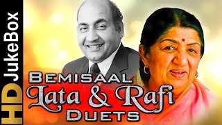 Bemisaal - Lata & Rafi Duets Jukebox | Best Old Hindi Jukebox | Special Evergreen Hindi Songs