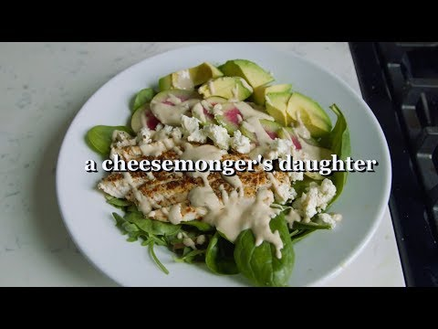 sumac chicken salad with tahini dressing | a cheesemonger's daughter