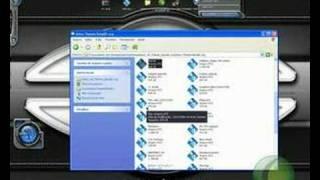 mostrando um pouco um pouco do aston desktop