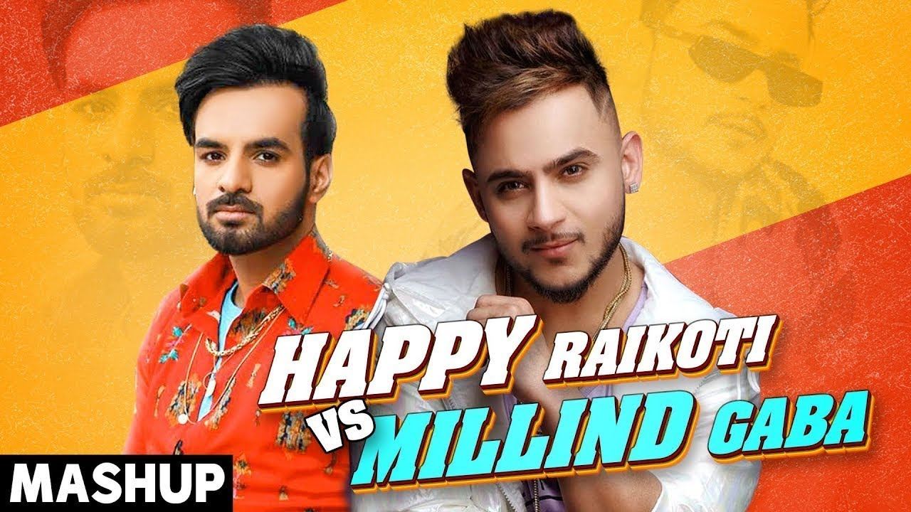 Millind Gaba Vs Happy Raikoti | Mashup | Latest Punjabi Songs 2020 |  Speed Records