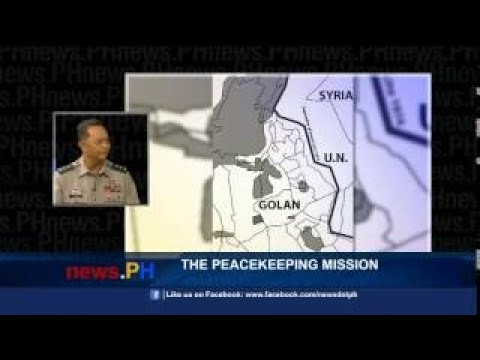 News.PH Episode 93: The Peacekeeping Mission (Golan Heights)