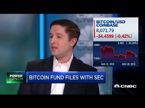 Why Bitcoin Fund's SEC Filing May Be A Big Crypto Breakthrough