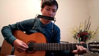 Sống trong niềm vui Jos.Hung guitar and harmonica