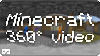 Test 2 Minecraft VR vidéo (3D 360° 4K)