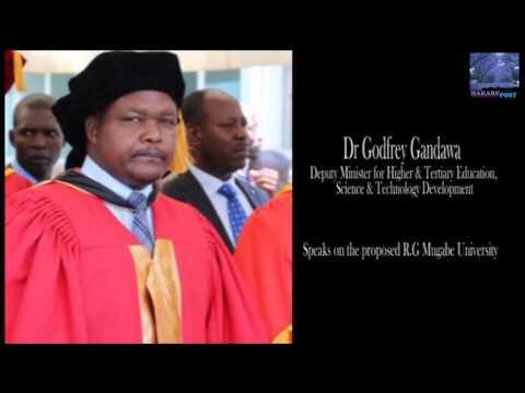 Dr G. Gandawa on R.G Mugabe University