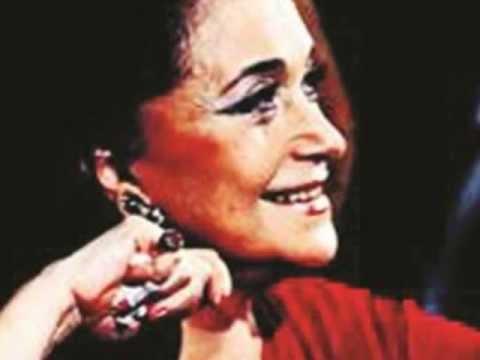 "Leyla Gencer - ""Spiew grobowy"" (Hymn from The Tomb) - Théâtre de l'Athénée Paris, 20.10.1980"