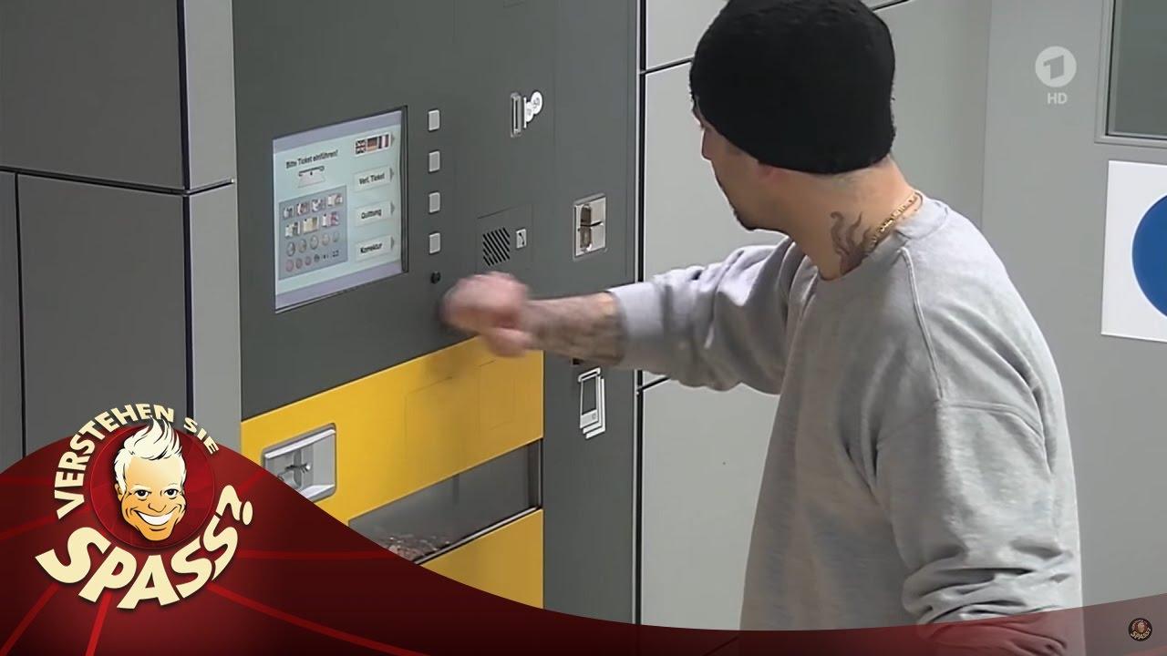 Der Ticketautomat - Verstehen Sie Spaß?