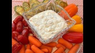 СОУС RANCH //   Соус для салатов и овощей
