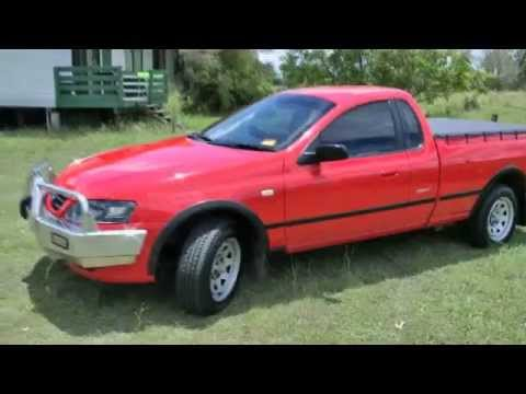 Fords Last Off Road Ute Review The Falcon BF Mark 2 RTV