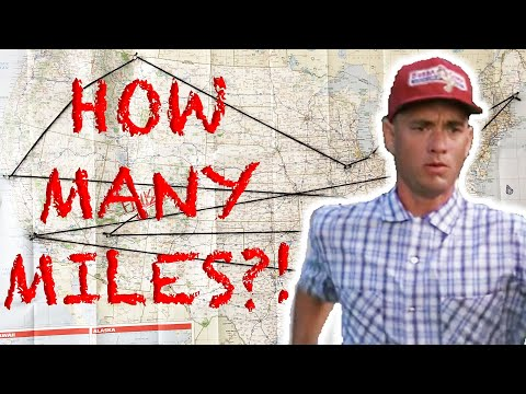 How Far Did Forrest Gump Actually Run?