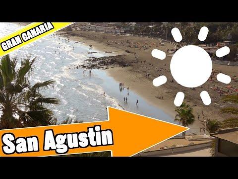San Agustin Gran Canaria Spain: Tour of beach and resort