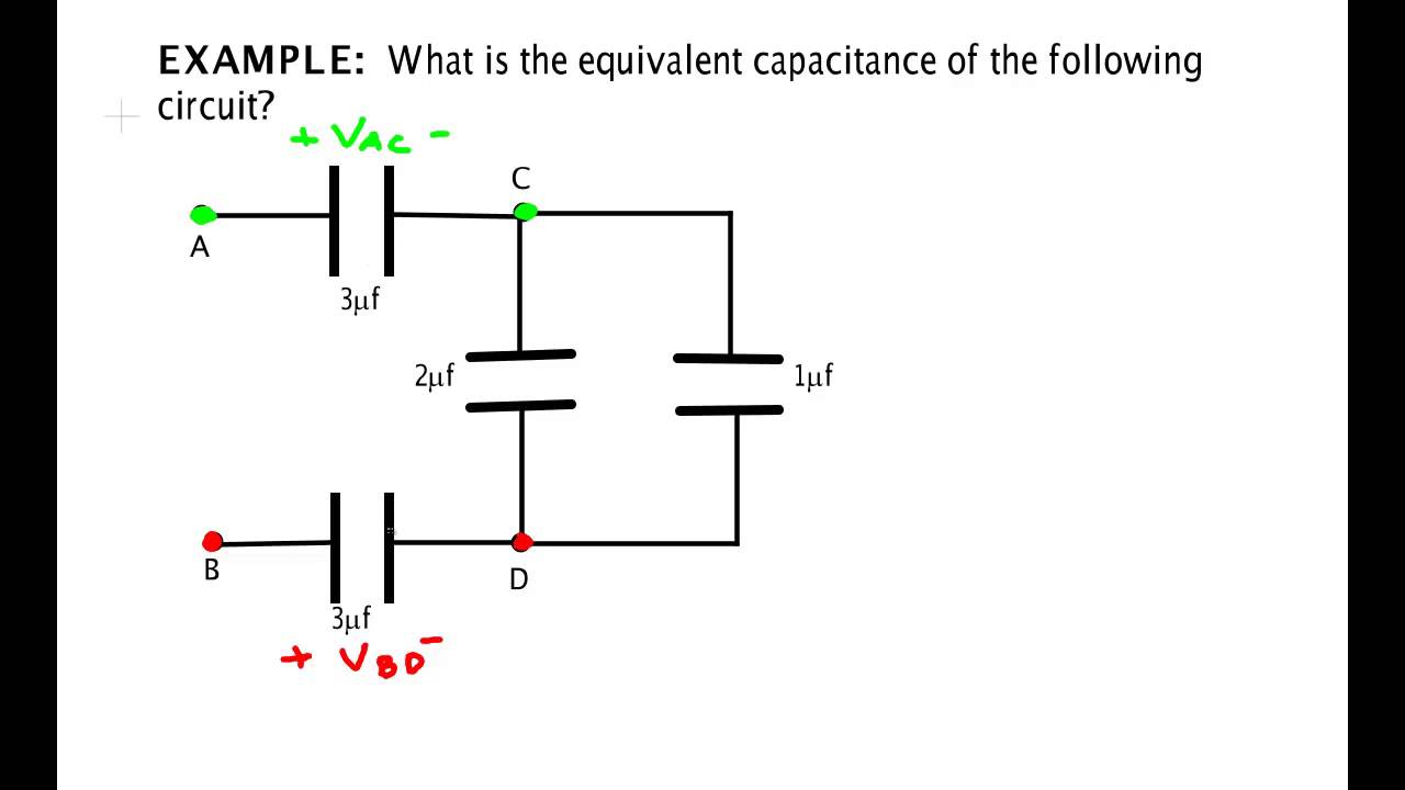 Capacitor Example 1 Youtube Circuit