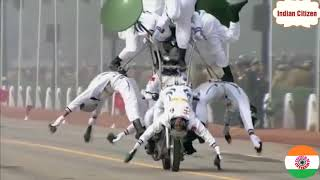 August-15-2018 in DELHI performed stunts