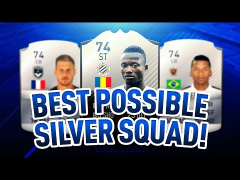 Best Possible Silver Squad | FIFA 17