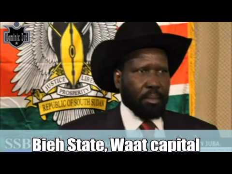 South Sudan News -7 new States