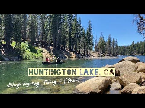 Huntington Lake, CA Camping Trip! | Hikes, Kayaking, Fishing + S'mores