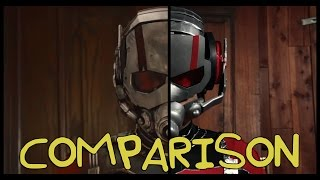 Ant-Man Trailer - Homemade Side by Side Comparison