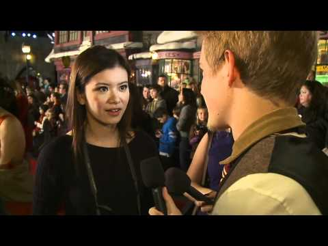 Katie Leung on the Red Carpet at Warner Bros. Home Entertainment Celebration