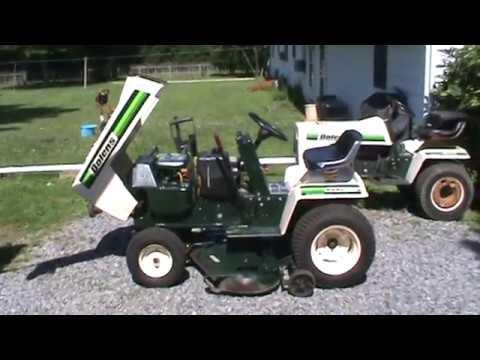 Bolens 1600 Eliminator Garden Tractor
