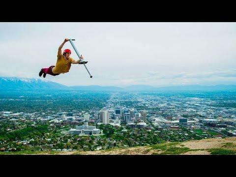 Pogo Freestyle! World's Best Pogo Tricks!!! | DEVINSUPERTRAMP
